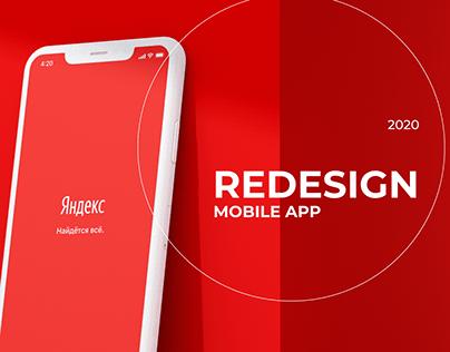 Yandex App Redesign