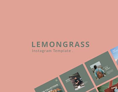 Lemongrass Instagram feed template
