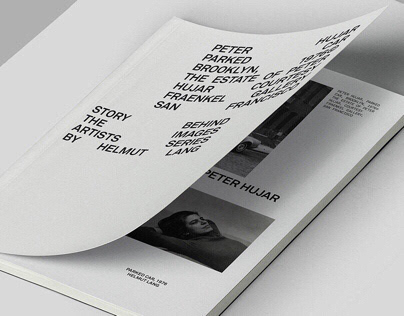 Helmut Lang The Artist Series