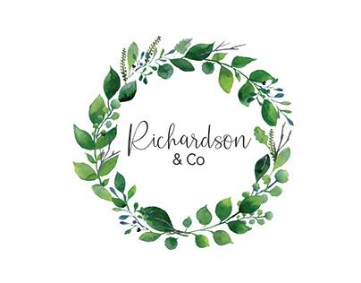 garden feminine logo