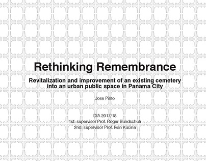 Master's Thesis: Rethinking Remembrance