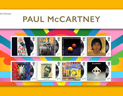 Royal Mail Music Giants - Paul McCartney