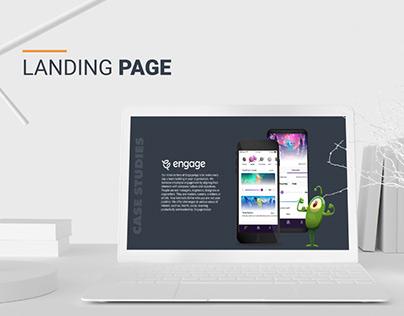Fullstack Landing page
