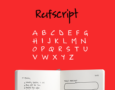 Rufscript - English Handwriting Unicode Font