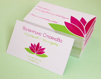 Massage-therapist - Brand identity