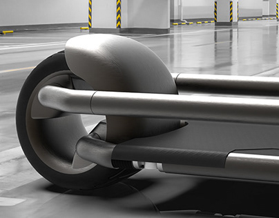 ELECTRIC SCOOTER AND AUTOMATED STORAGE