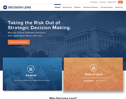 New Client Site - Decision Lens