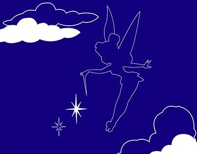 Peter Pan Book Cover Design