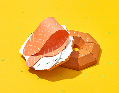 paper craft fruits