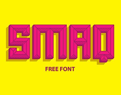 Smaq Typeface ( Free Font )