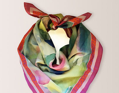 SILK SCARF/ PATTERN DESIGN