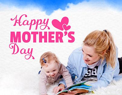Happy Mother's Day Gift Voucher Design for BiblioBazaro