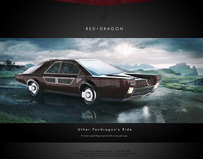 I Am Morgan Le Fay: Red Dragon Vehicle Design