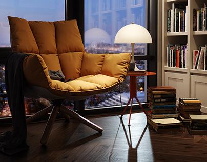 Reading Corner - CGI