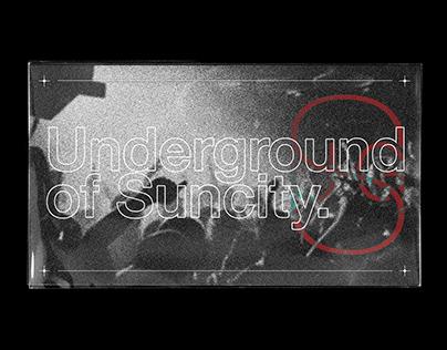 Underground Of Suncity II Brand Identity