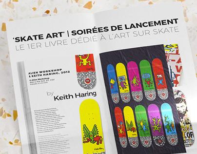 Skate Art — Release in Lyon