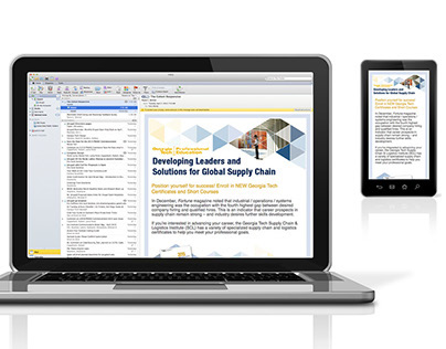 Supply Chain Logistics Responsive Email