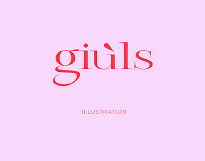Brand identity @giuls_illustration