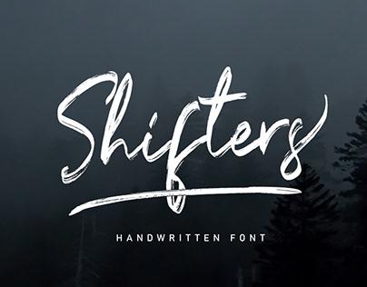 Shifters - Handwritten Font