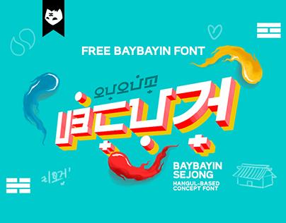 BAYBAYIN SEJONG Free Concept Font