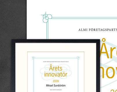ALMI – diploma for Innovator of the Year