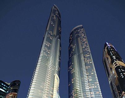 Dubai Crown Plaza Tower