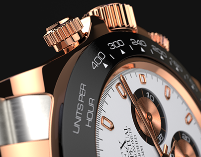 Rolex Oyster Perpetual - watch product rendering