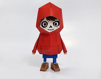 036_coco [Paper Toy Boogie Hood]