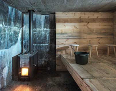 Bunker Sauna (Design in Context, 2015)