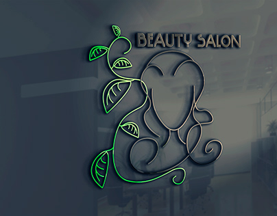 Logo design beauty salon