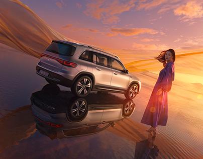 Mercedes-EQ | EQB launch campaign