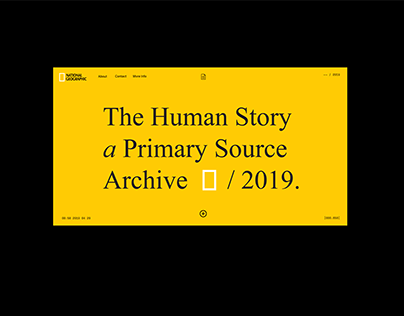 National Geographic Timeline