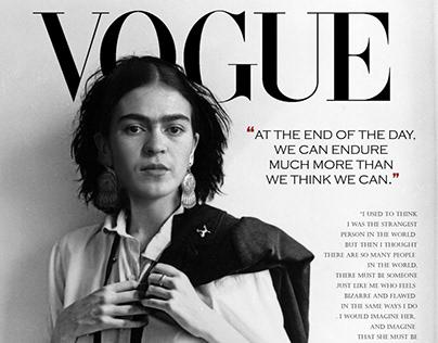 Frida en Vogue