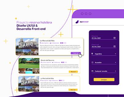 Proyecto UX/UI & Desarrollo Front end