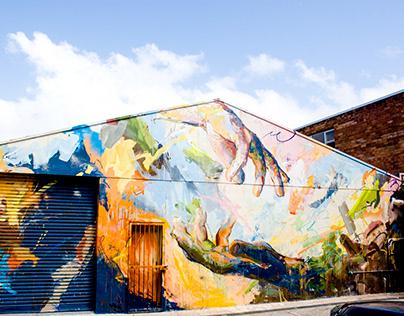 Michael Black paints the HQ of Polygenic Studio