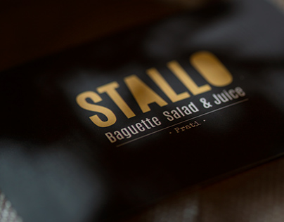 STALLO // Food Photography // Brand ID // Web Identity