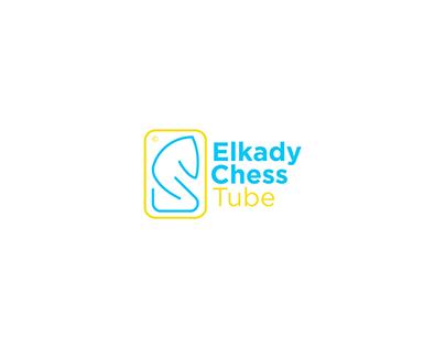 Elkady Chess Tube Brand Identity Design