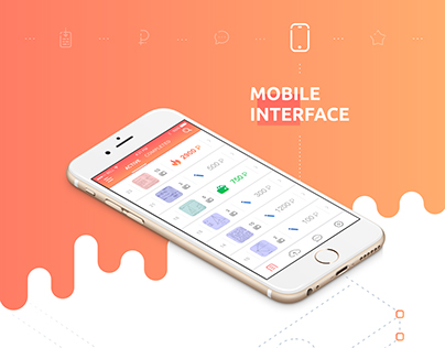Evenly (Webdesign, UI, icons, animations)