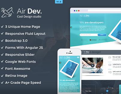 Air Dev HTML Template