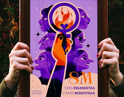 8th of March ! Feminist poster