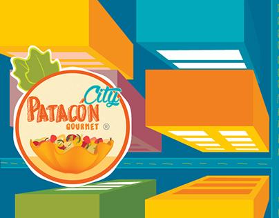 Patacón City, Diseño de marca y diseño de Foodtruck