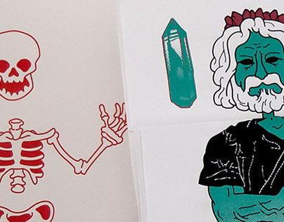 Death Angels - Exquisite Corpse game\artbook