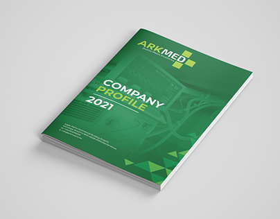 Company Profile Design in Kenya for ArkMed Ltd