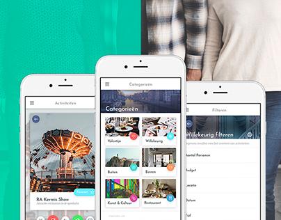 Trip planner app - UX/UI Design