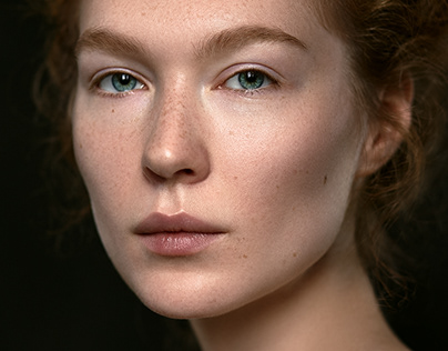 Beauty retouch. A natural look.