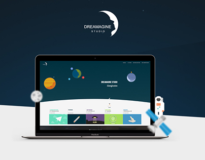 Dreamagine Studio - Redesign