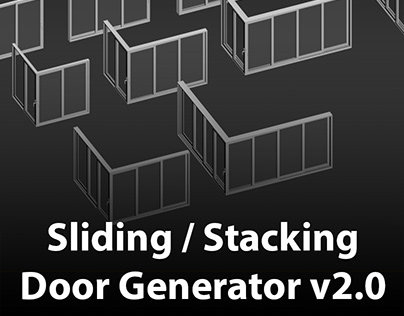 Sliding / Stacking Door Generator v2.0