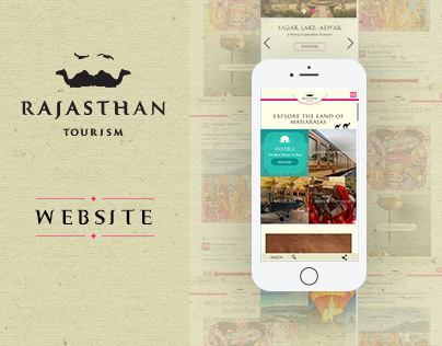 Rajasthan Tourism - Website