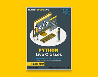 Python Coaching Poster