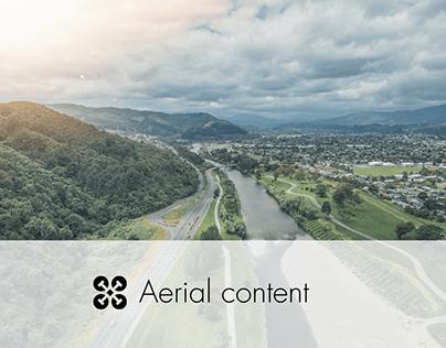 Aerial content